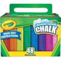 Crayola Sidewalk Chalk, 51-2048