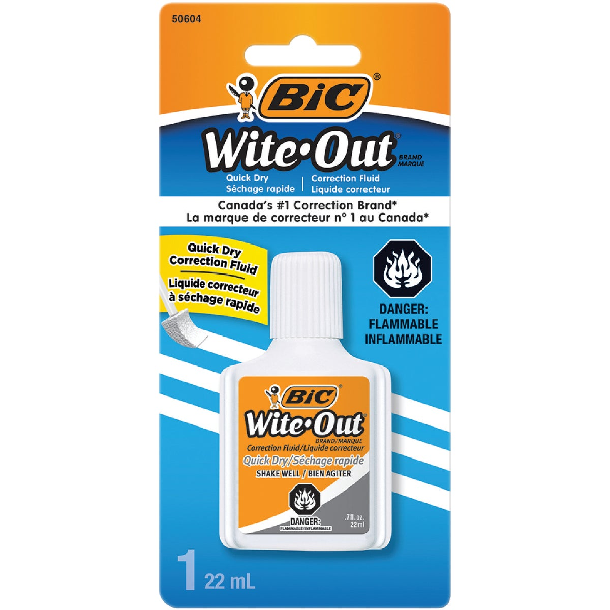 WITE OUT FLUID - WOFQDP1WHI by Bic Corporation