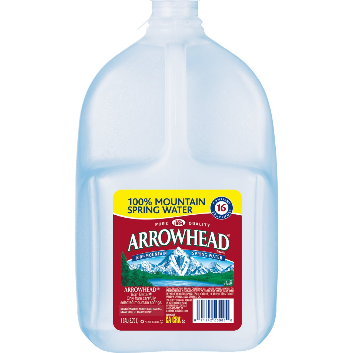 GAL ARROWHD SPRING WATER