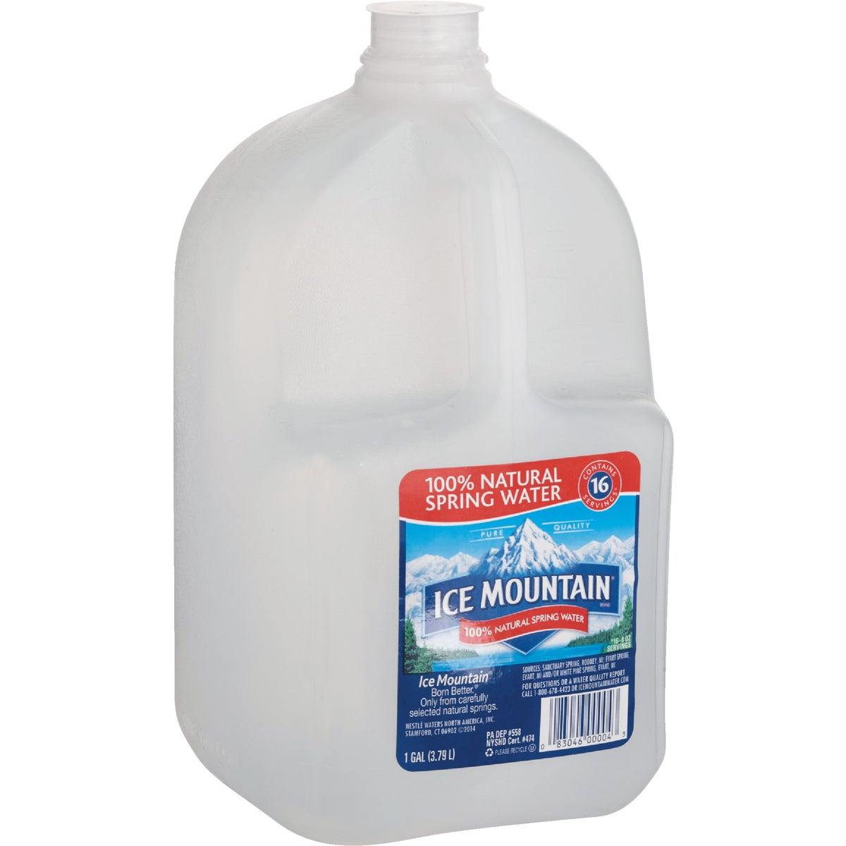 GAL ICE MNT SPRING WATER