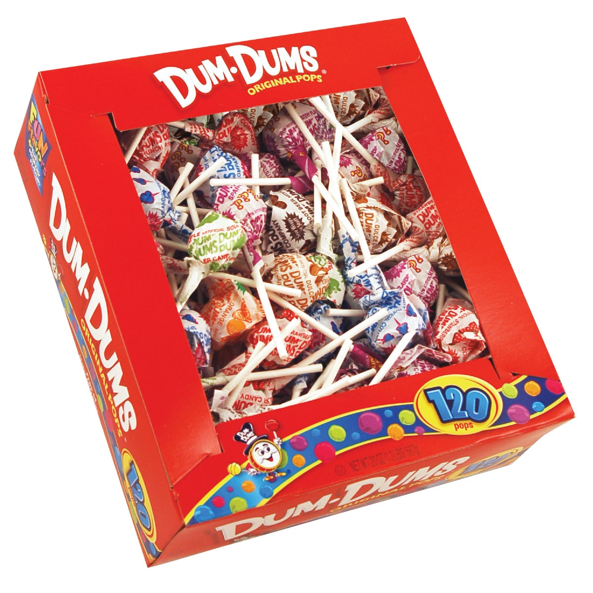 120CT DUM DUM POPS - 066 by Spangler Candy Co