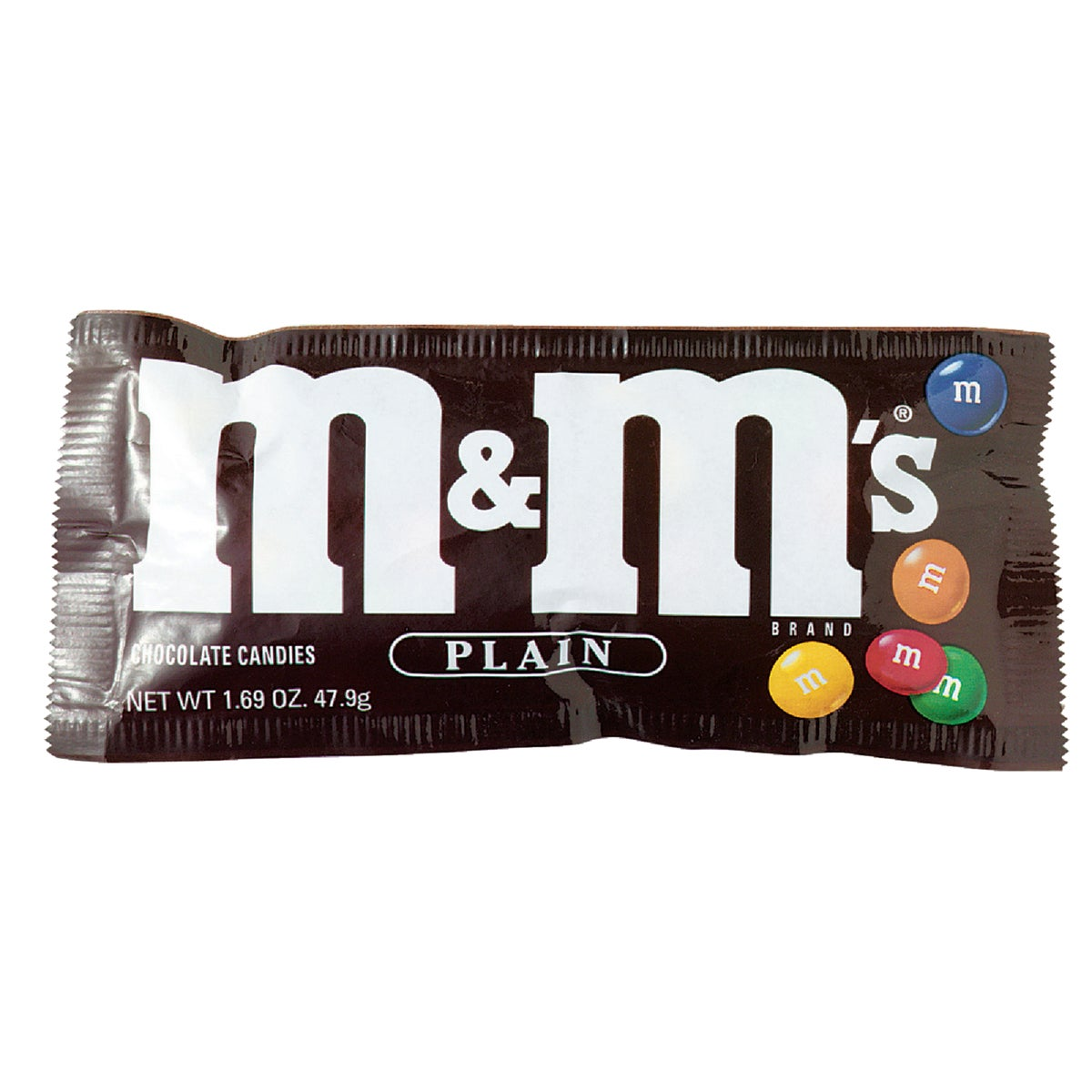1.69OZ PLAIN M&M'S - 1231 by Liberty Distribution