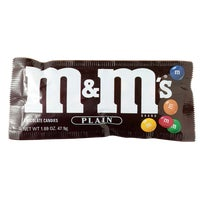 Liberty Distribution 1.69OZ PLAIN M&M'S 1231