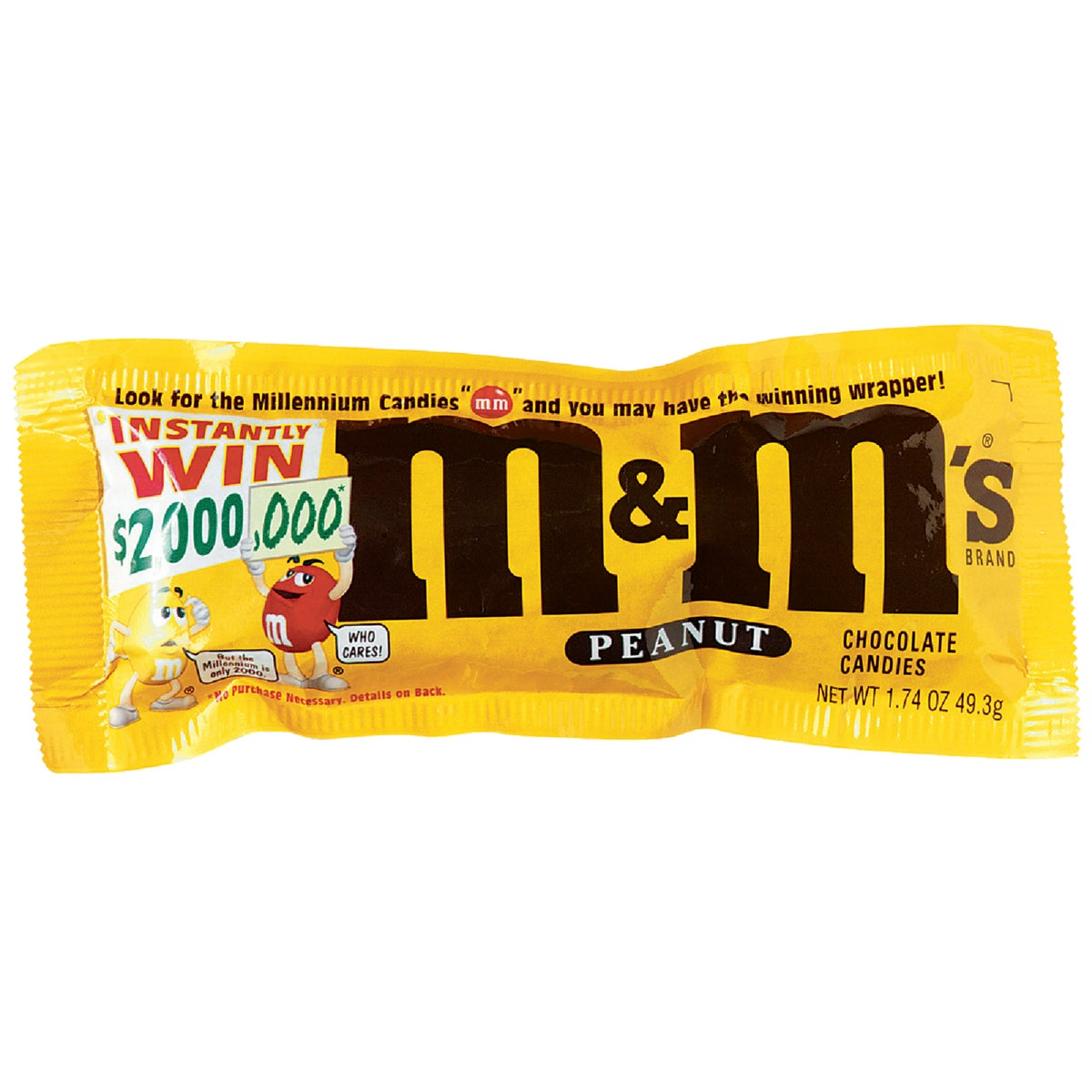 1.74OZ PEANUT M&M'S