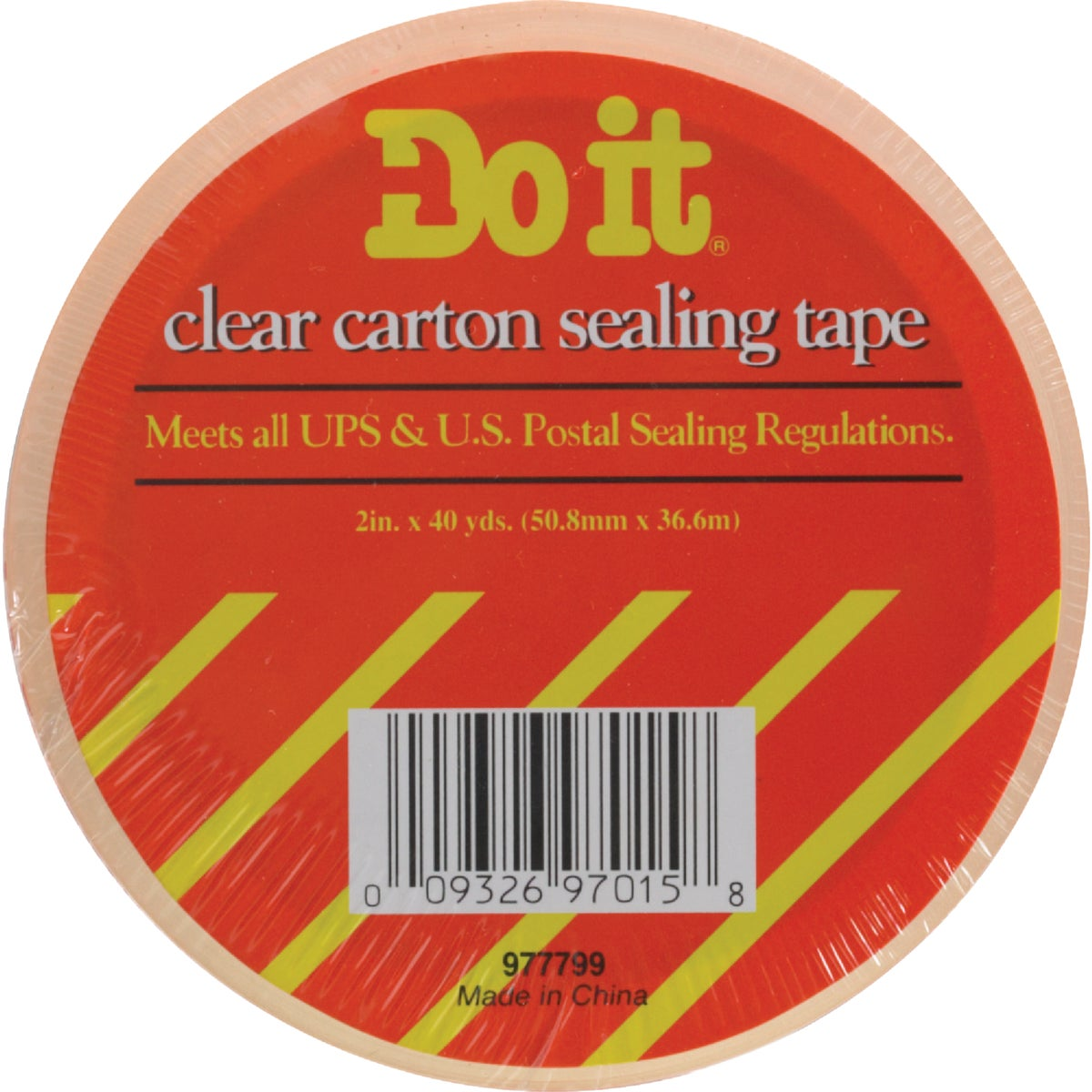 1.88X54.6YD H/D CLR TAPE - 977799 by Intertape Polymer