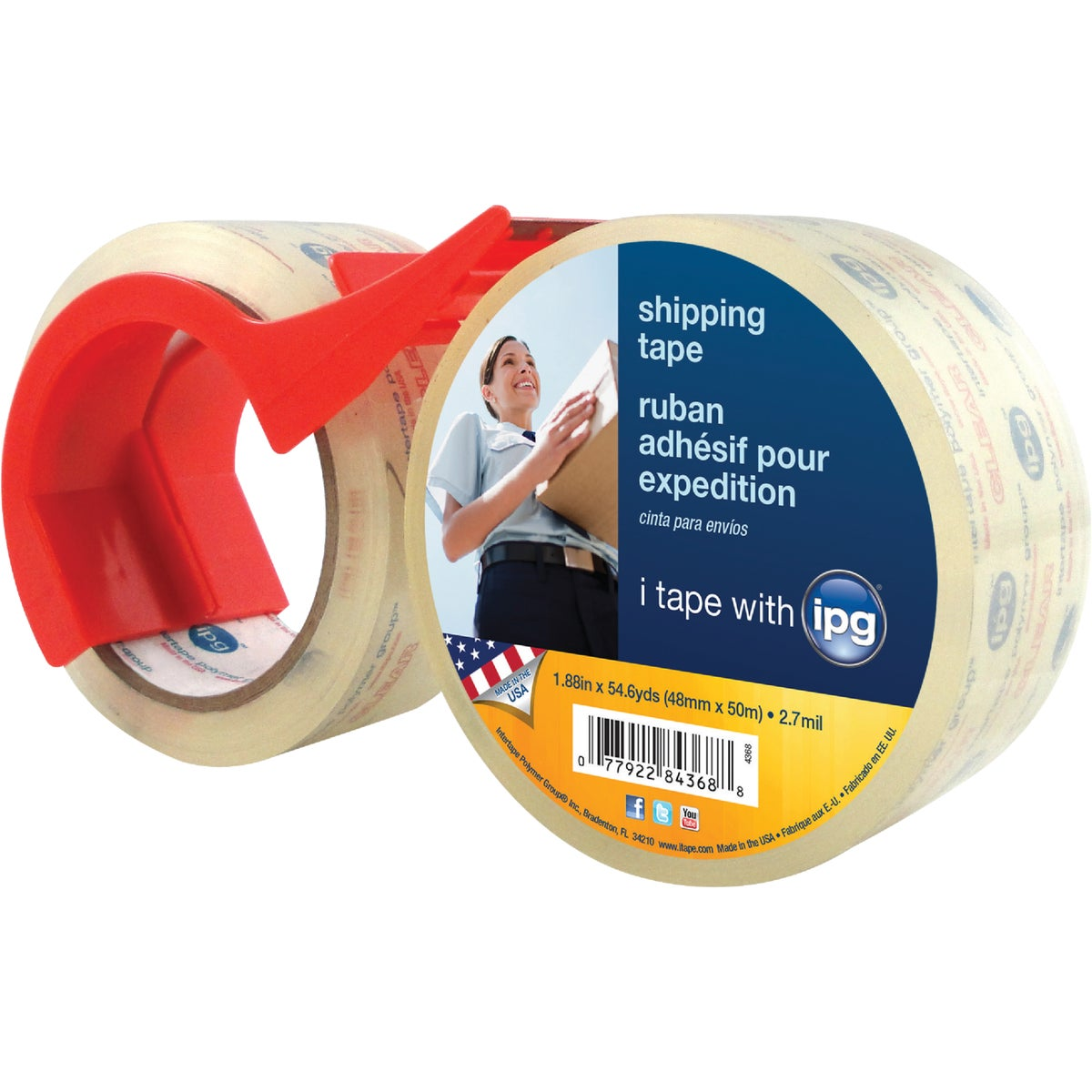 2PK SEALING TAPE - 84368 by Intertape Polymer
