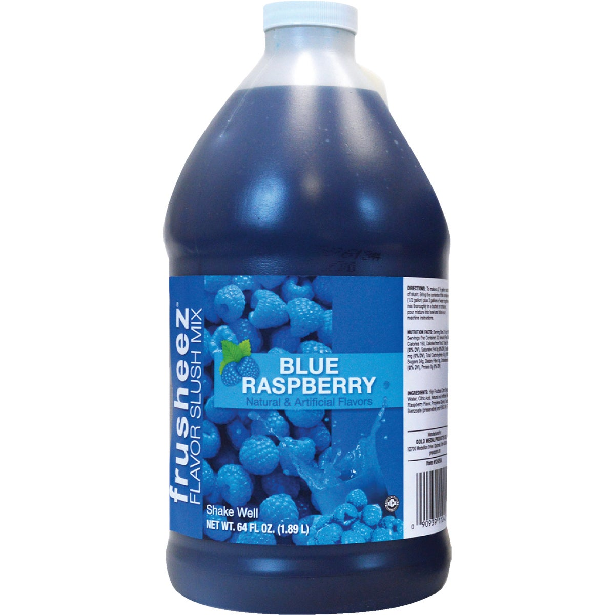 BLUE RASP FRUSHEEZ MIX