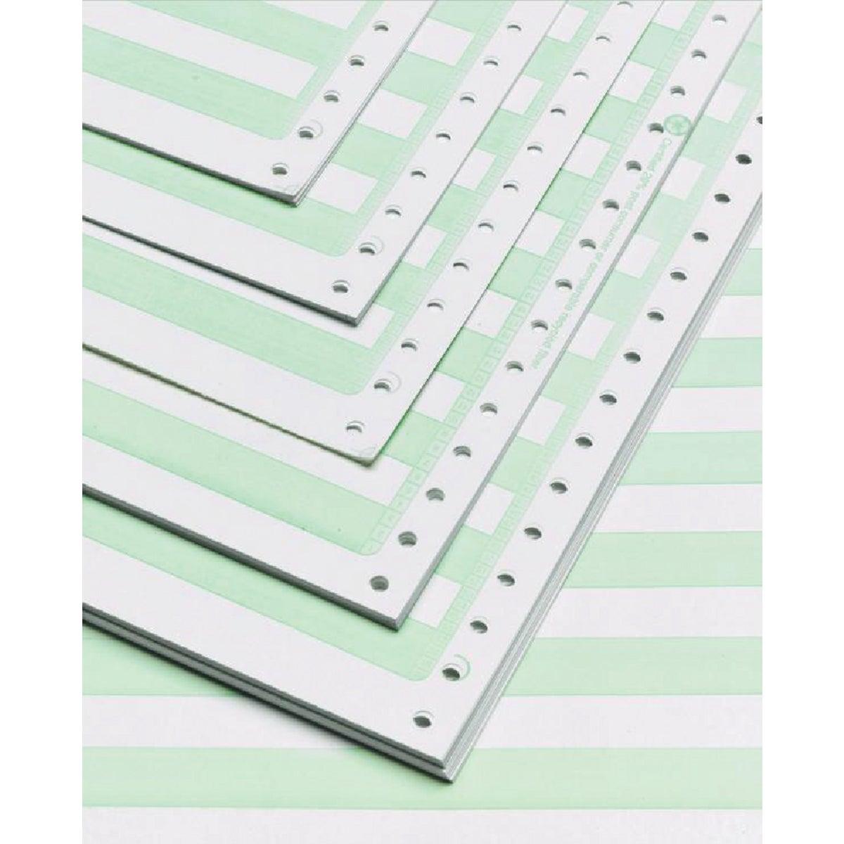 Greenbar Computer Printer Paper