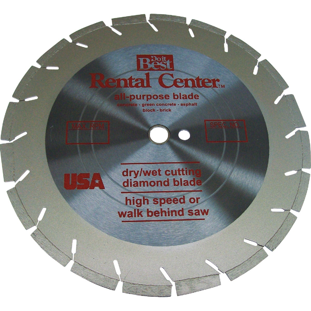 14X.125 DIAMOND BLADE - DIA14SW by Ned Corporation