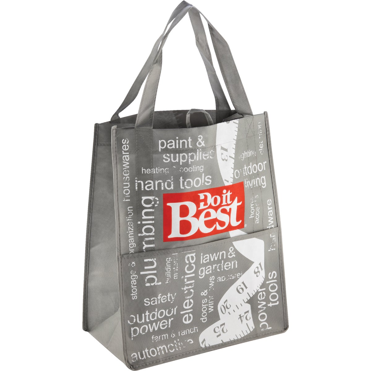 DO IT BEST TOTE BAG - EW756R by Earthwise Bag Co