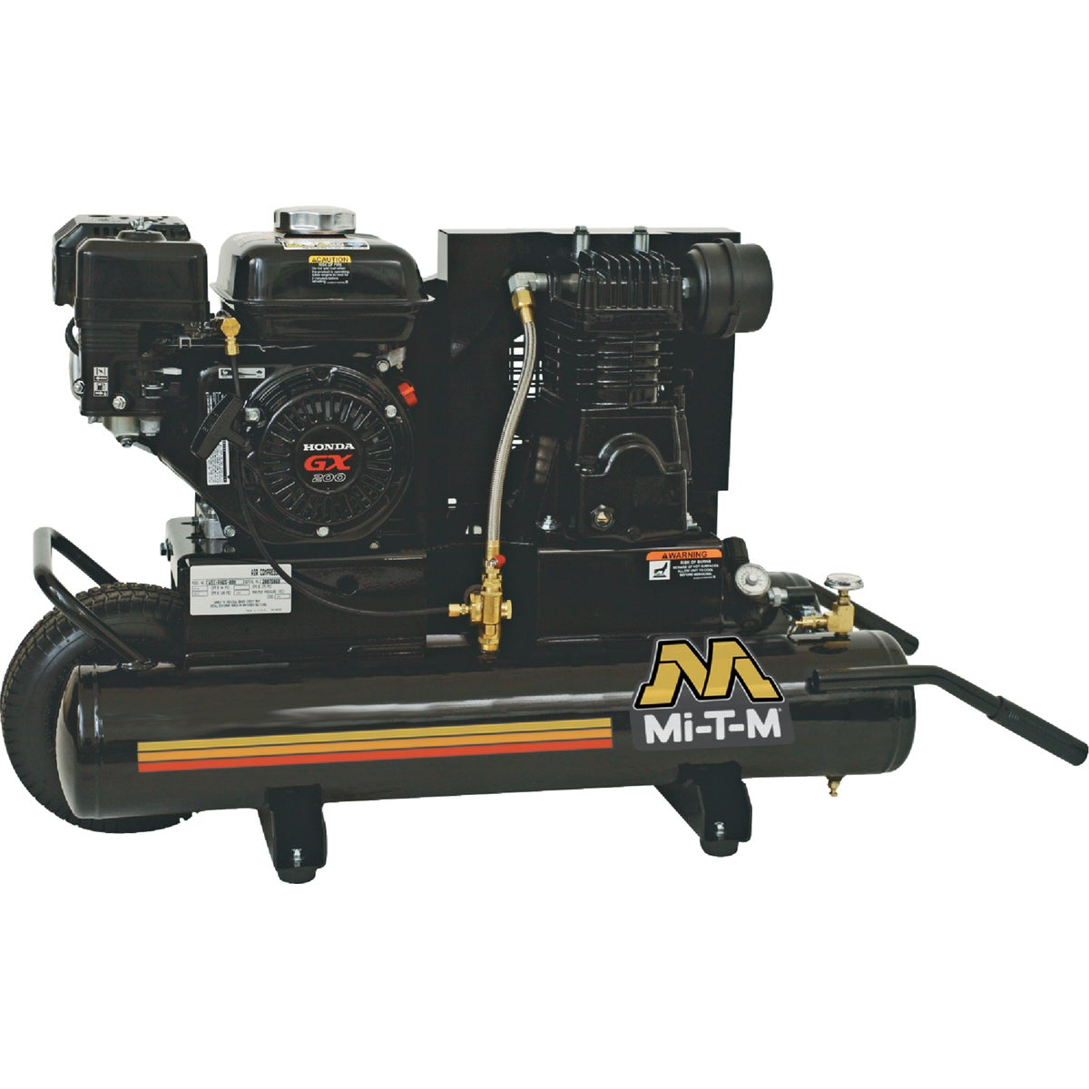 6.5HP GAS AIR COMPRESSOR - AM1-PH65-08M by Mi T M Corp