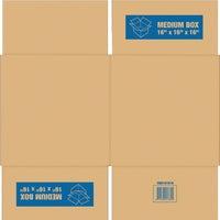 AllBoxes Direct 3 CU FT CARDBOARD BOX SP-902