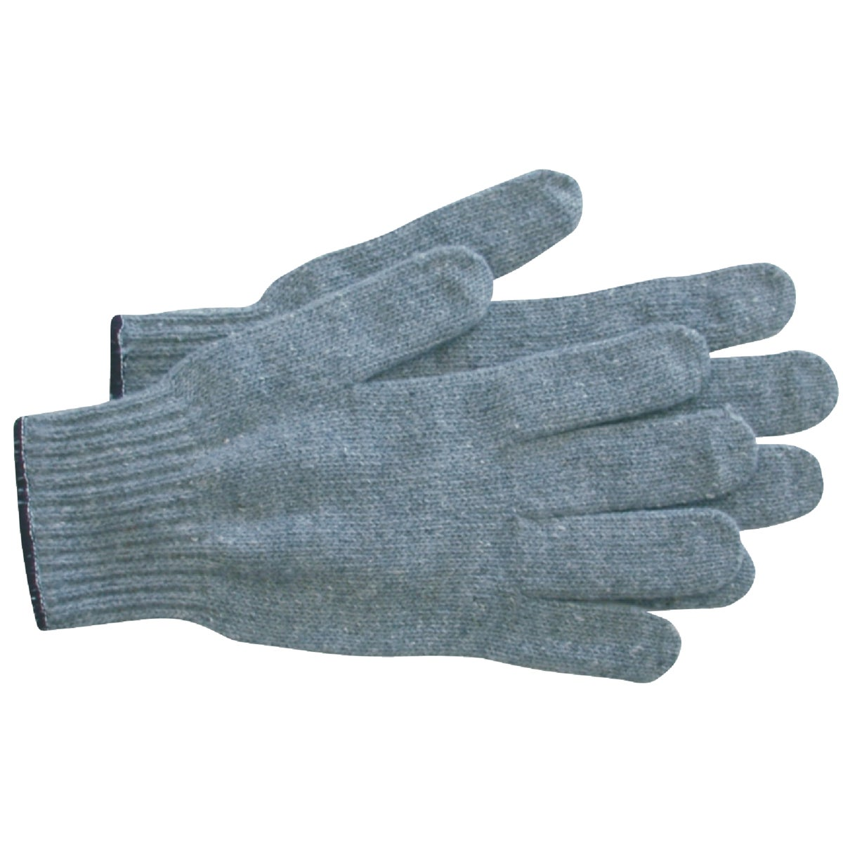 GRAY STRING KNIT GLOVE
